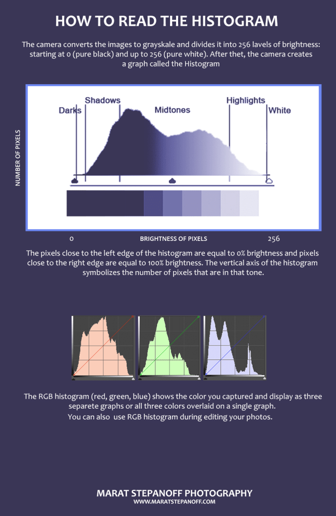 How to read a Histogram. Infographics