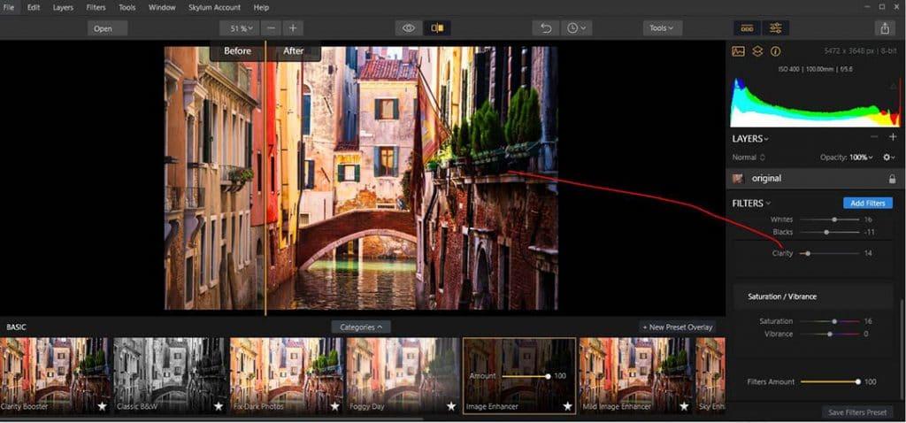 Venezia Basic Categories Image Inhanser edit