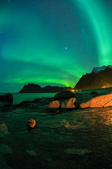 1 day photography workshop northern lights