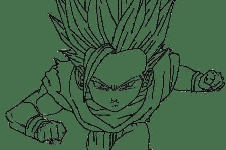 Goku Y Gohan Bebe Para Colorear picture gallery