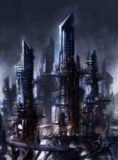 Concept Art Futuristic Cities (53)