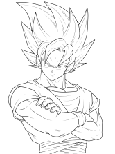 goku coloring pages (10)