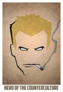 Superheroes and villains minimal art posters (12)
