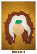 Superheroes and villains minimal art posters (27)