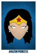 Superheroes and villains minimal art posters (3)