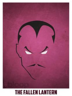 Superheroes and villains minimal art posters (40)