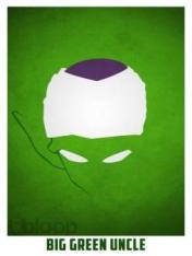 Superheroes and villains minimal art posters (44)