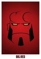 Superheroes and villains minimal art posters (56)