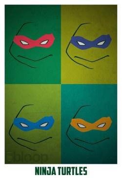 Superheroes and villains minimal art posters (57)