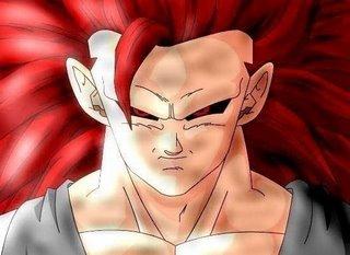 Goku Super Sayayin 7  Evil Goku Dragon Ball AF  marbal