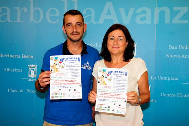 Marbella acoge el sábado el que será el I Certamen Ciudadano Canino de Andalucía