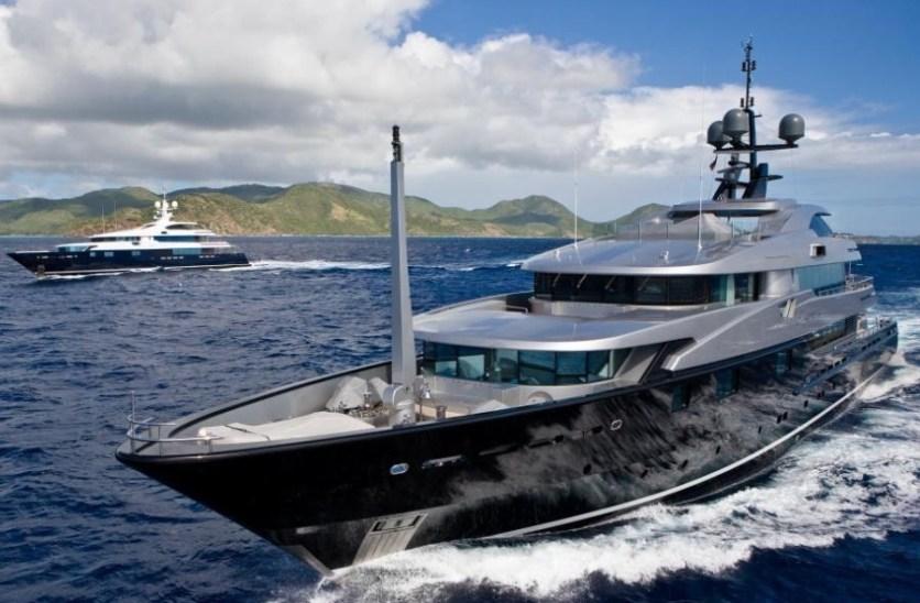 """Evento a bordo del """"Slipstream Yatch"""""""