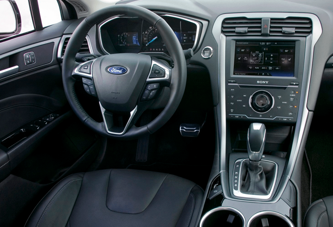 Rent Ford Fusion