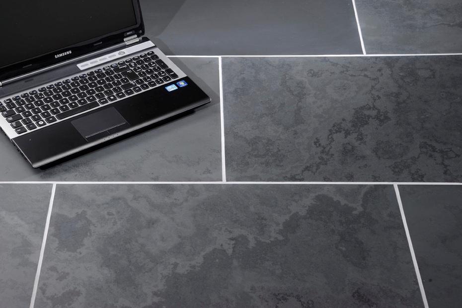 brazilian black honed calibrated slate floor wall tiles 600 mm x 300 mm x 10 mm