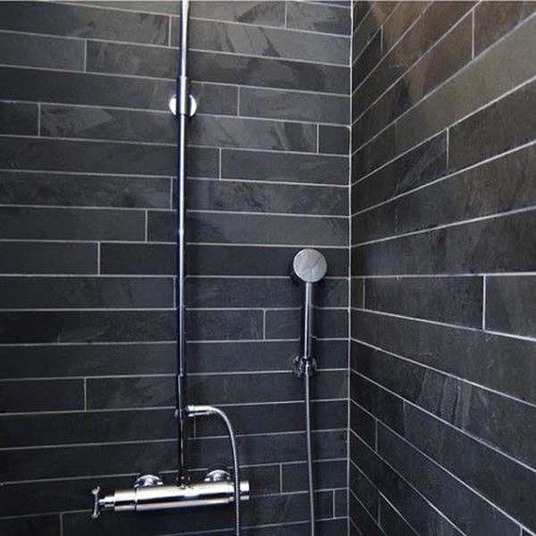 brazilian black slate calibrated slate strips 600 mm x 60 mm