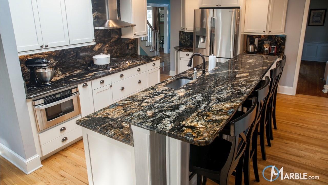Go Bold or Go Home! Bold Kitchen Design Ideas on What Backsplash Goes With Black Granite  id=15304