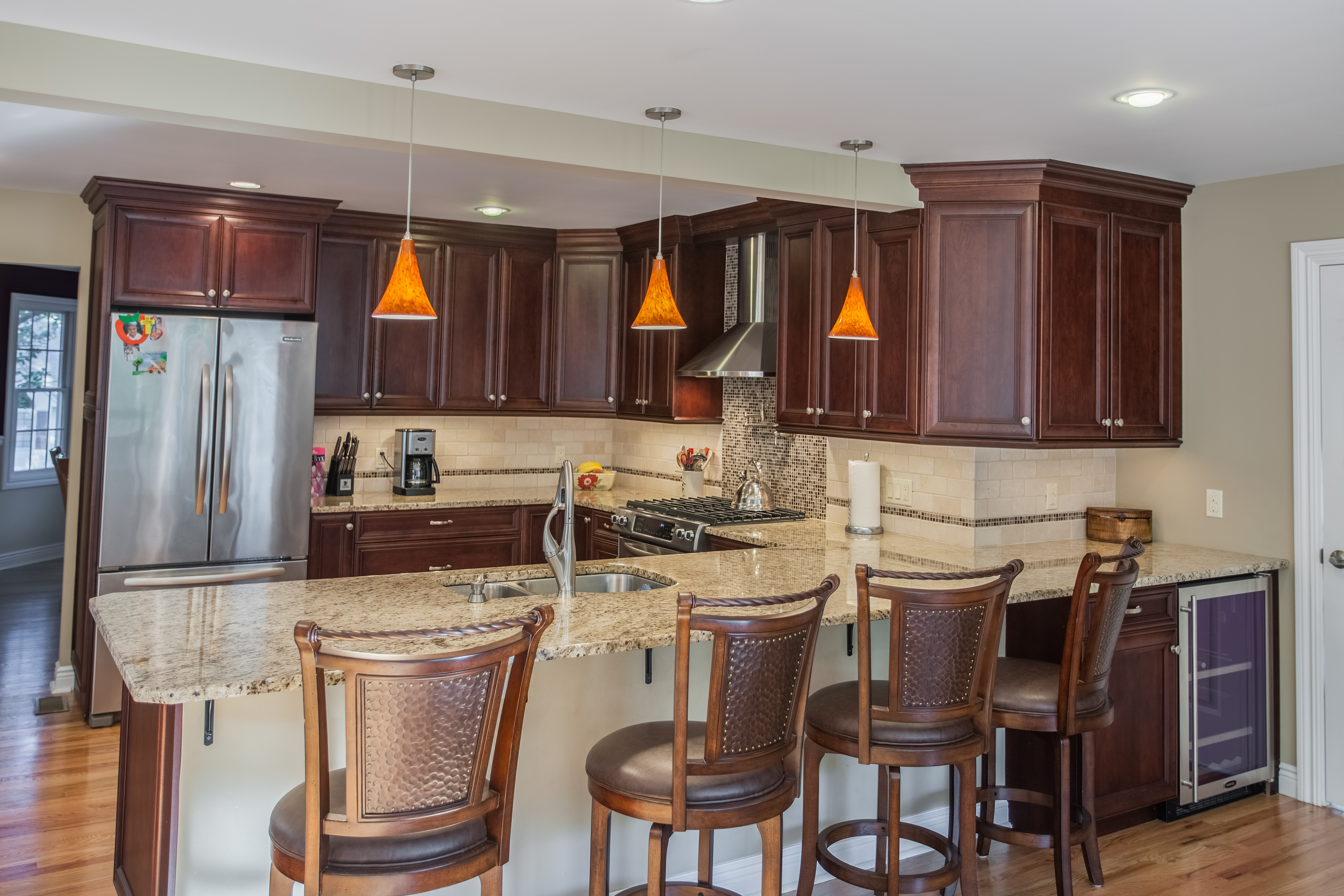 The Top 5 Granite Countertops to Complement Cherry ... on Modern:gijub4Bif1S= Kitchen Remodel  id=11182
