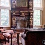 Emperador Dark Fireplace Surround Marble Com