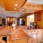 Red Dragon Granite Counters In A Country Kitchen Marble Com