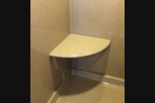 Shower Accessory Corner Seat