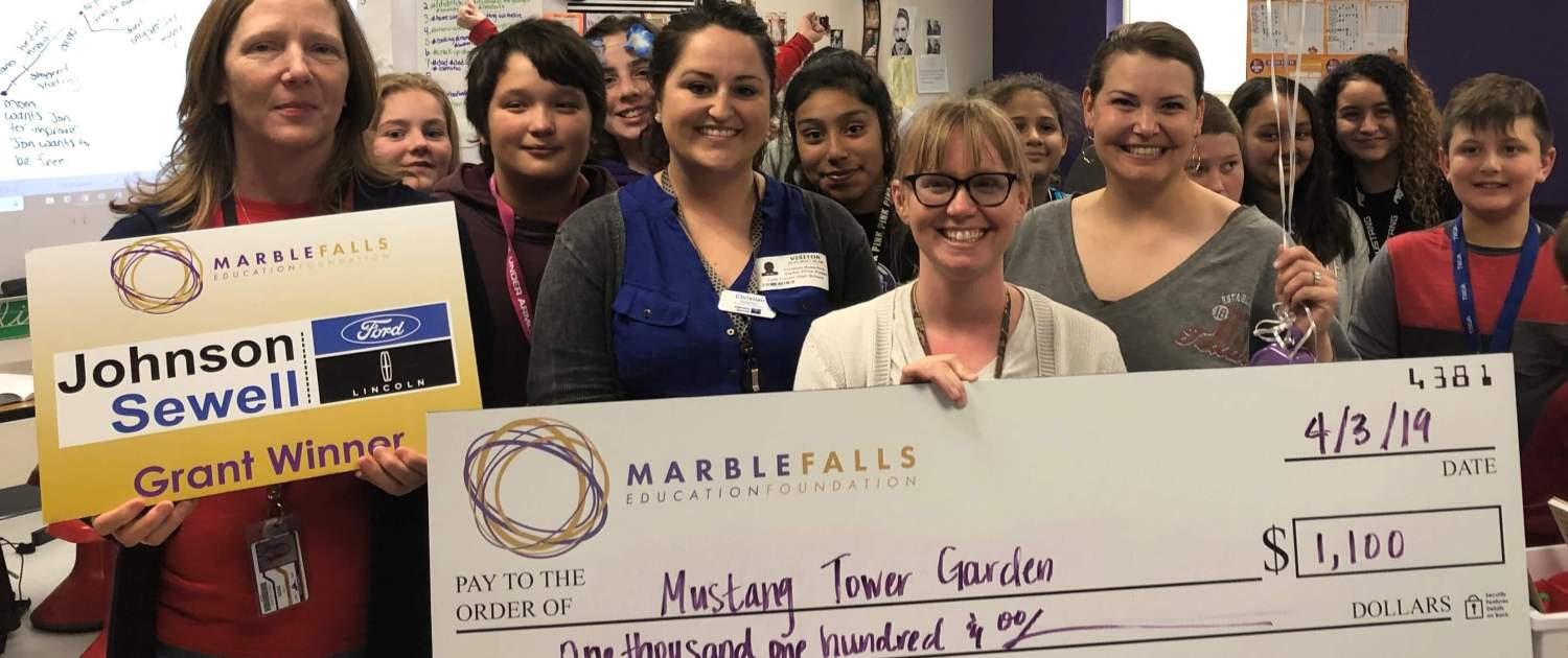 Teacher Grants | Marble Falls Education Foundation