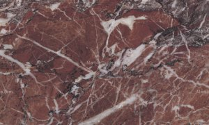 Eretria Red Greek Marble