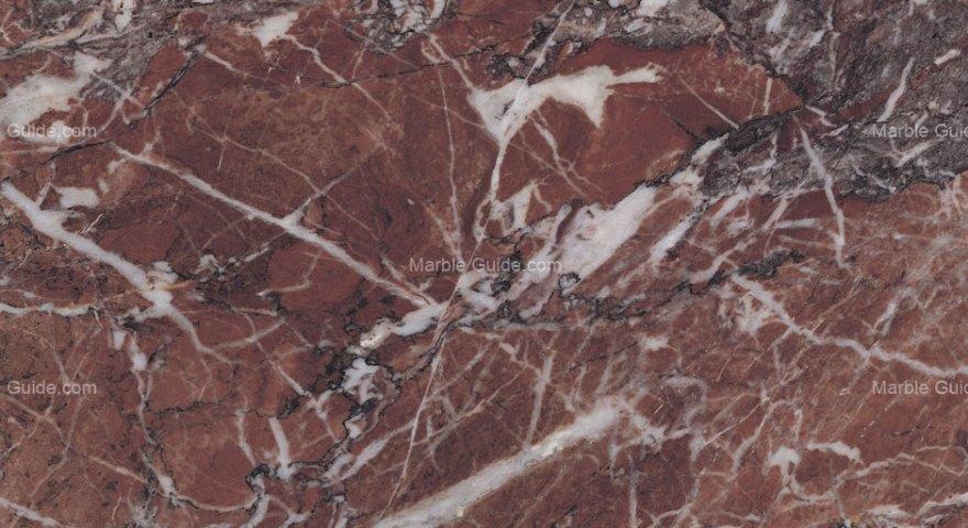 Eretria Red Greek Marble