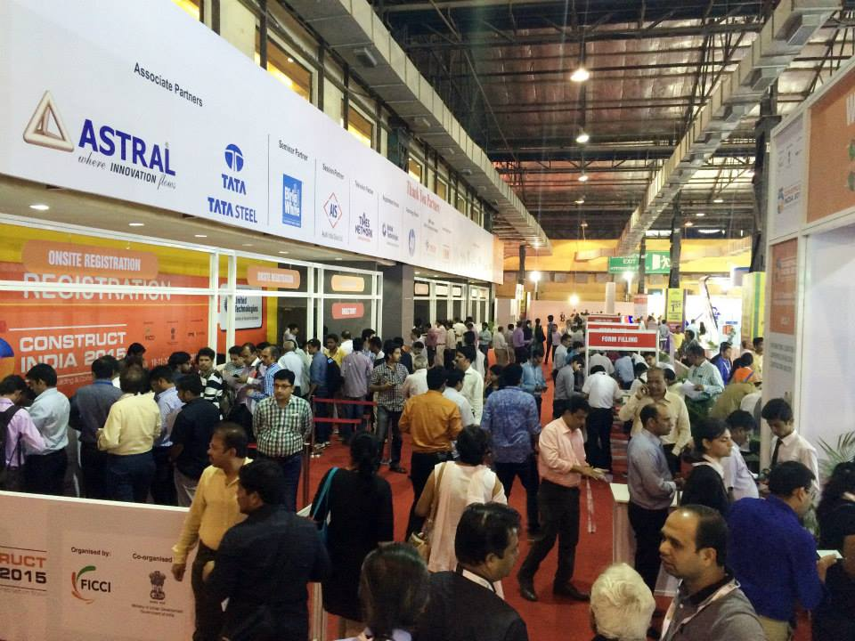 the big 5 construct india visitors