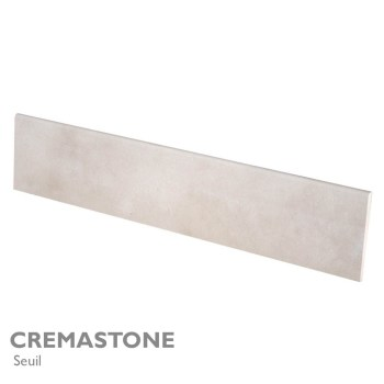 Seuil et margelle CREMASTONE 200 x 40 cm