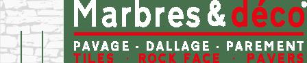 Logo Marbres et déco - Spécialiste en pierres naturelles