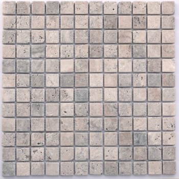 Mosaïque TRAVERTIN SILVER 23