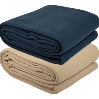 camel-navy polar fleece