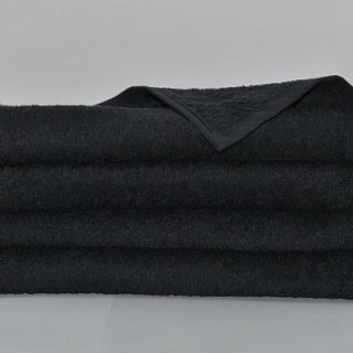 Black Hairdressing towels