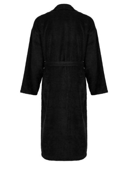 egyptian-plush-bath-robe-black