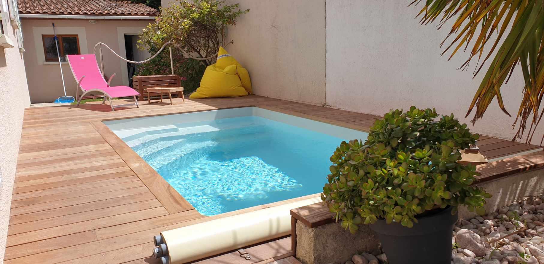 Piscines coques, Piscines coques Space Pools, Marc Robin Piscines