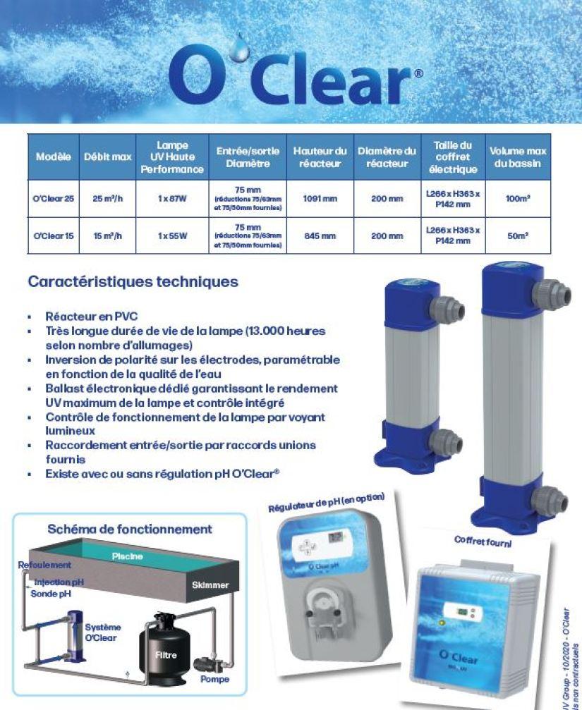 Bio UV O Clear, Bio UV O Clear, Marc Robin Piscines