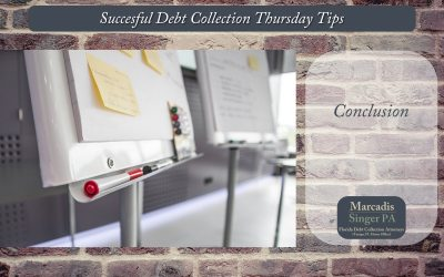 Thursday Debt Collection Tips  (Series Finale)