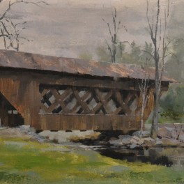 Saxeville Covered Bridge 12x24
