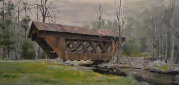 Saxeville Covered Bridge 12x24 $650