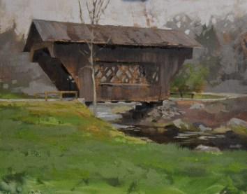 Saxeville Bridge 11x14 -Sold