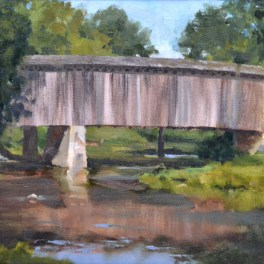 Cedarburg Bridge 14x18 $550