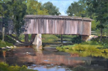 Cedarburg Bridge 14x18 $550