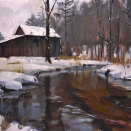 Willow Creek 24x36 -Sold