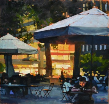 Bryant Park 24x24 $1200-Sold