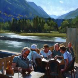 Dulen Cafe 20x30