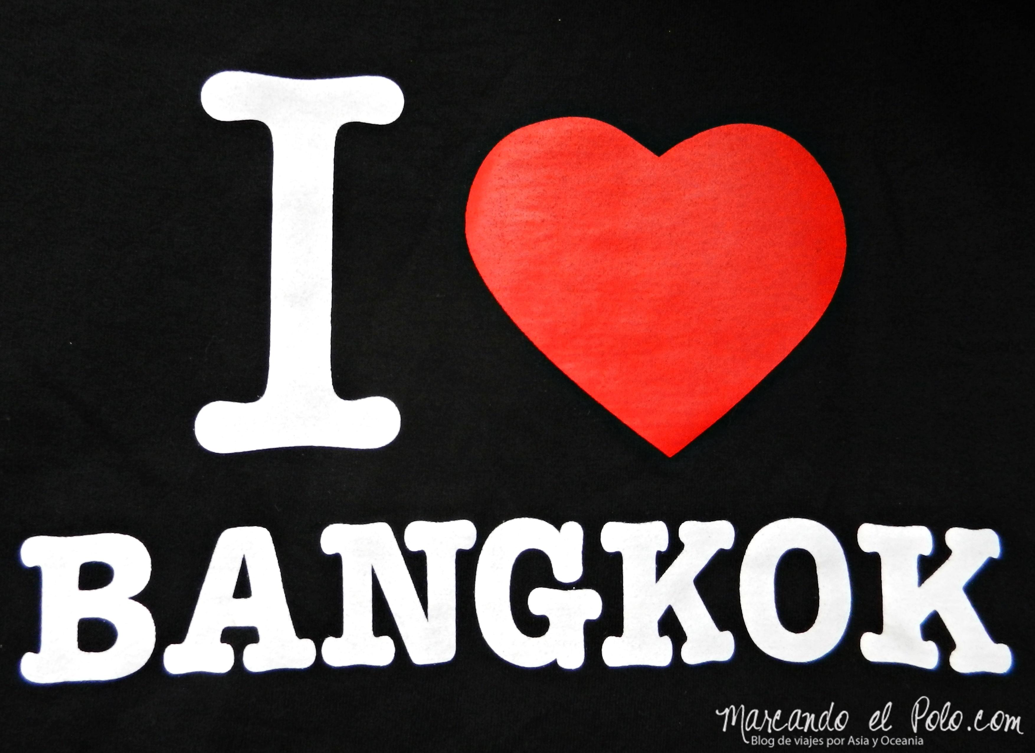 Remera I love Bangkok