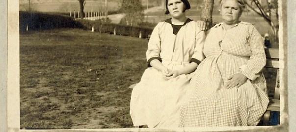 Carrie Buck and Emma Buck, 1924