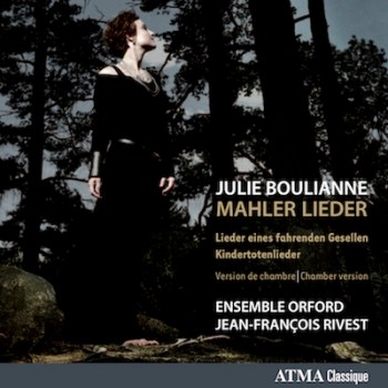 Cover art of Mahler Lieder album