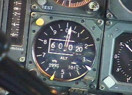 Concorde Altimeter