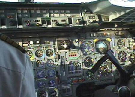 Concorde Cockpit
